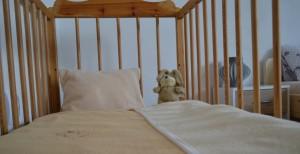Patro 3. pokoj - dvoj lůžko a dětská postýlka
