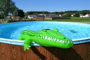 Bazén pro příjemné osvěžení